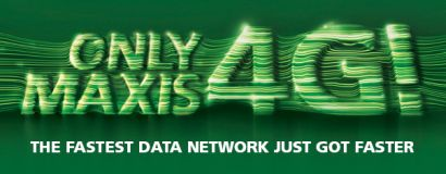 Maxis 4G LTE Internet in Malaysia