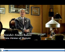 Visit Malaysia Year 2007, Prime Minister Welcomes you